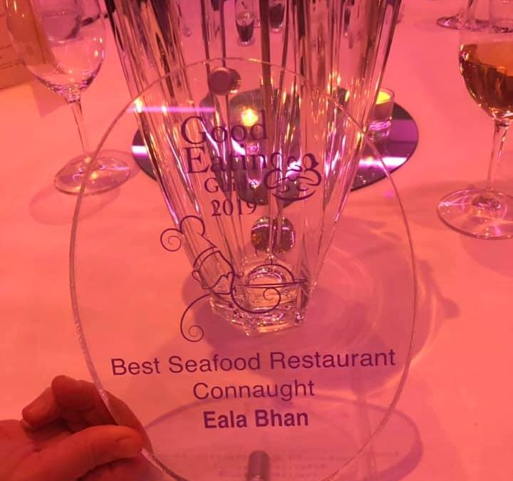 Eala Bhan wins Best Seafood Experience Connaught!
